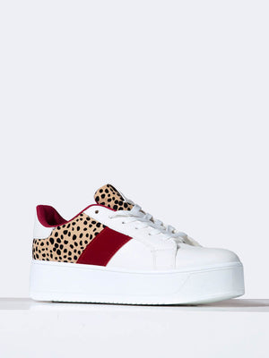 Color Block Platform Sneakers