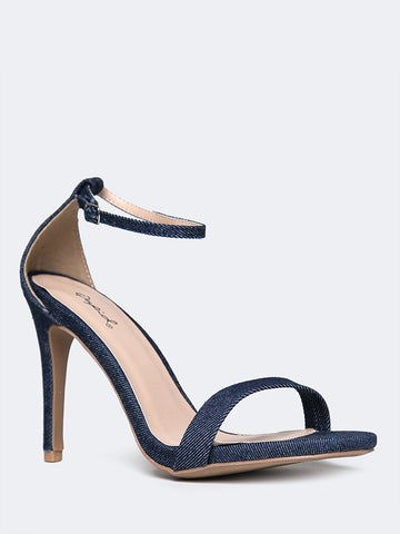 Aria Ankle Strap High Heel
