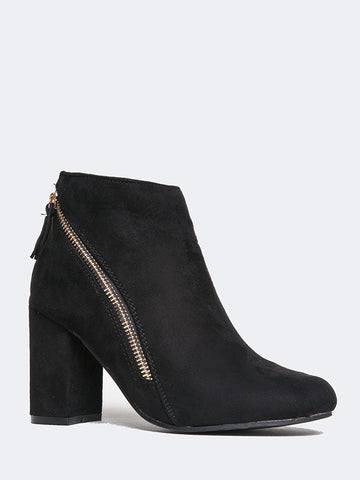 d7a7653a5d21 Black Booties 12 products