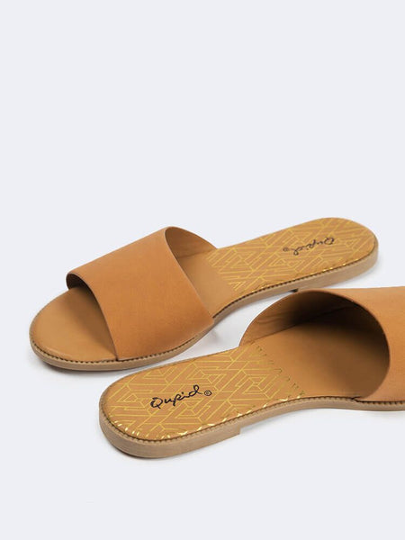 One Band Slide Sandals