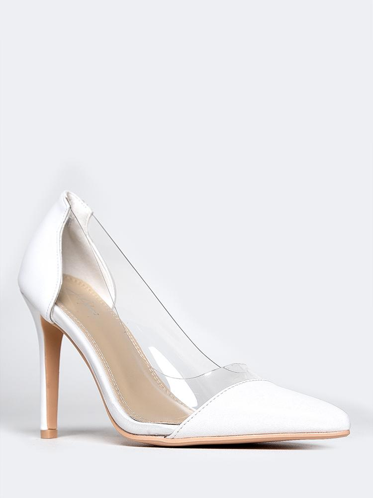 Clear Pointed Toe Pumps – ZOOSHOO