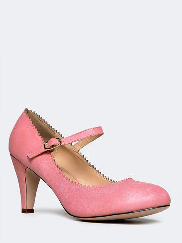 Honey Low Heel Mary Jane