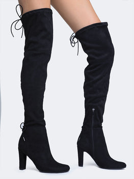 6bab270a235 breckelles. Over The Knee Boot.  43.  20 · black