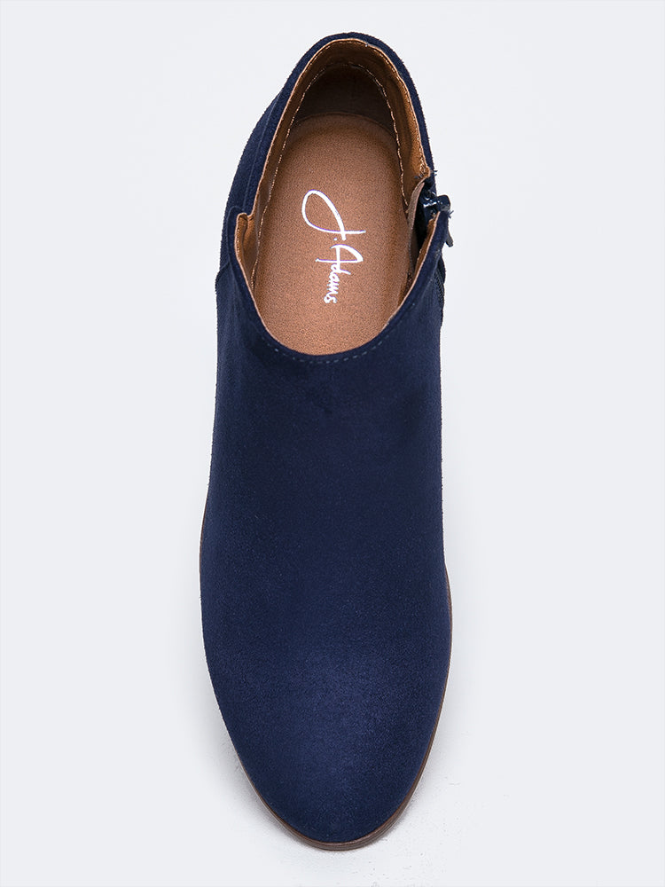 Navy Micro Suede