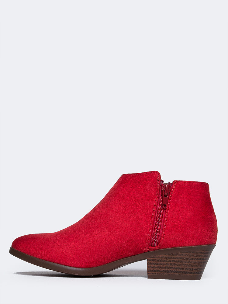 Red Micro Suede