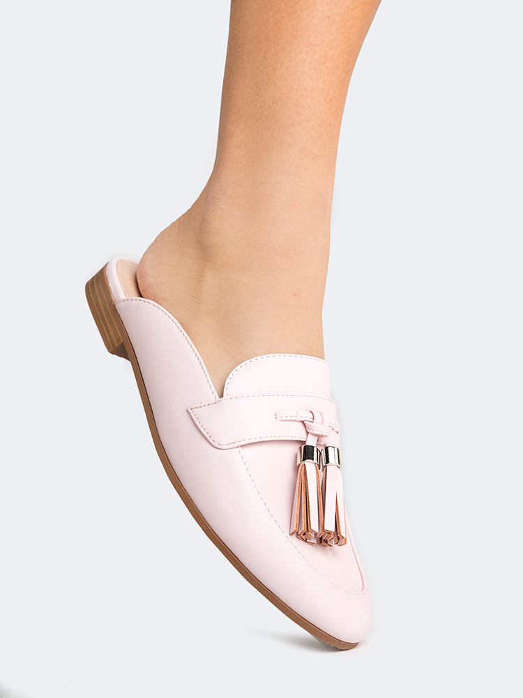 Pink Tassel Loafer
