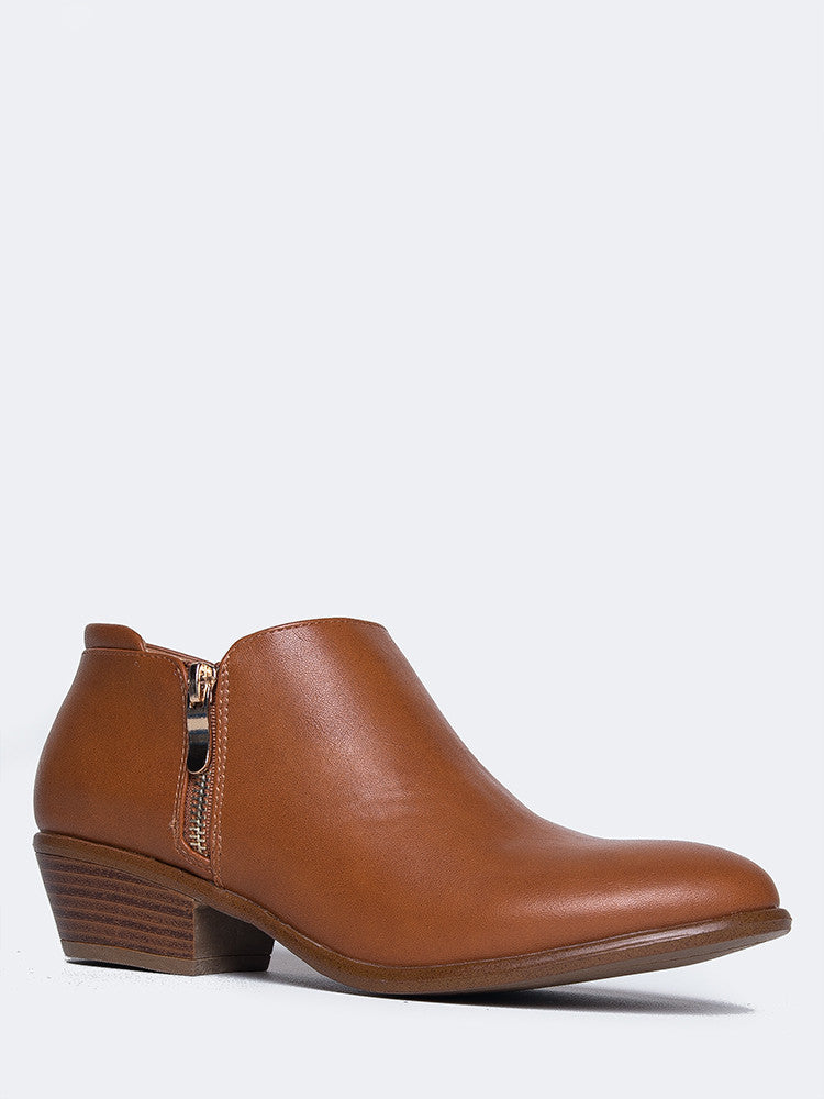 Low Western Bootie