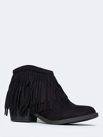 Marrow Fringe Ankle Boot
