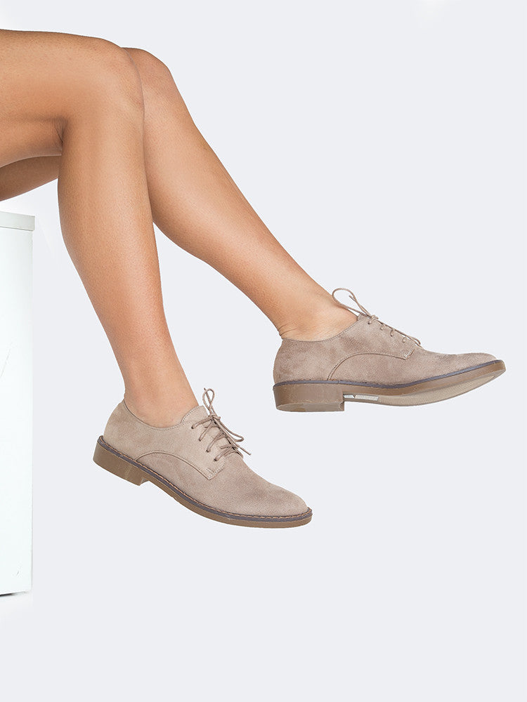 Taupe Suede