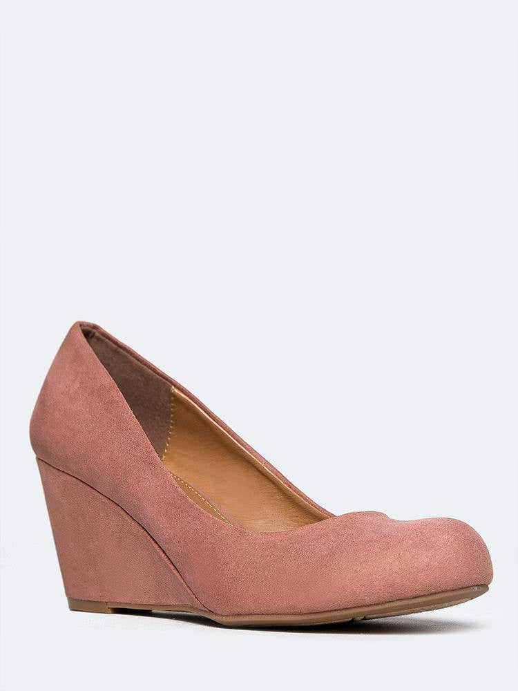 Nima Wedge Pumps Zooshoo