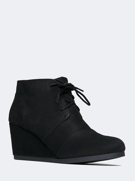 REX Lace up Ankle Bootie