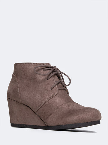 Roxy Wedge Ankle Boot