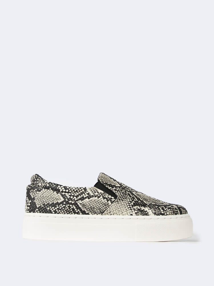 Stone Snake Sneakers