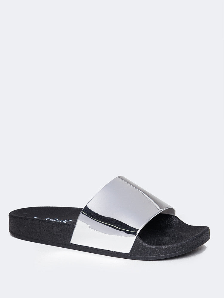 Metallic Band Sandal