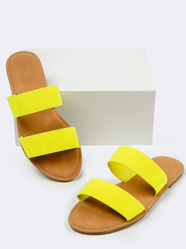 Double Elastic Band Sandals