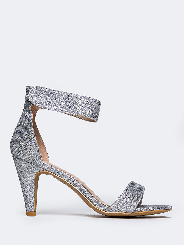 Sleek Ankle Strap Heel