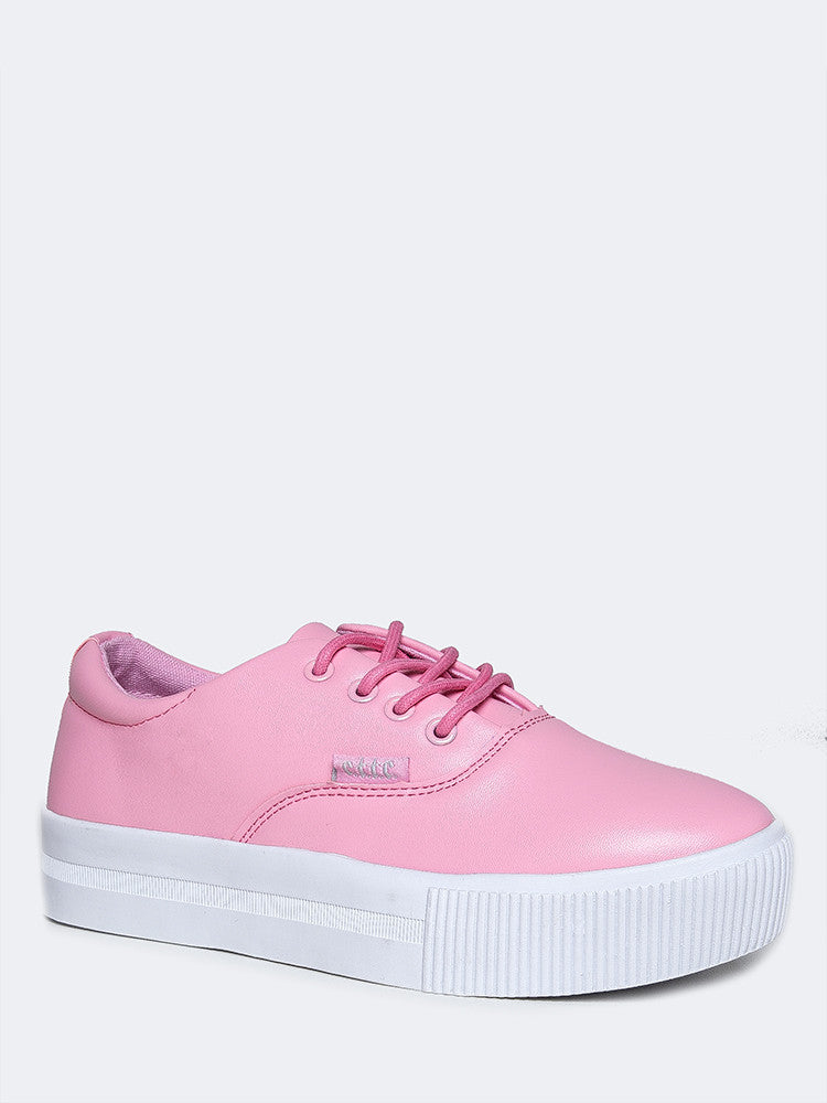 Sugar Lace Up Vegan Sneaker