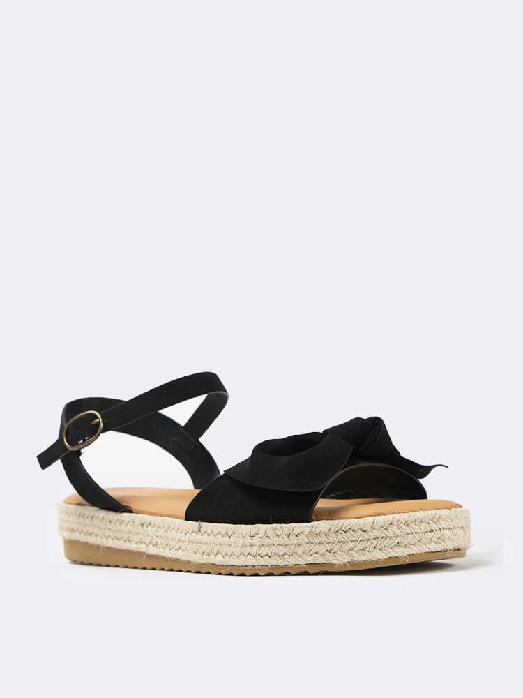 Bow Band Espadrille Sandal