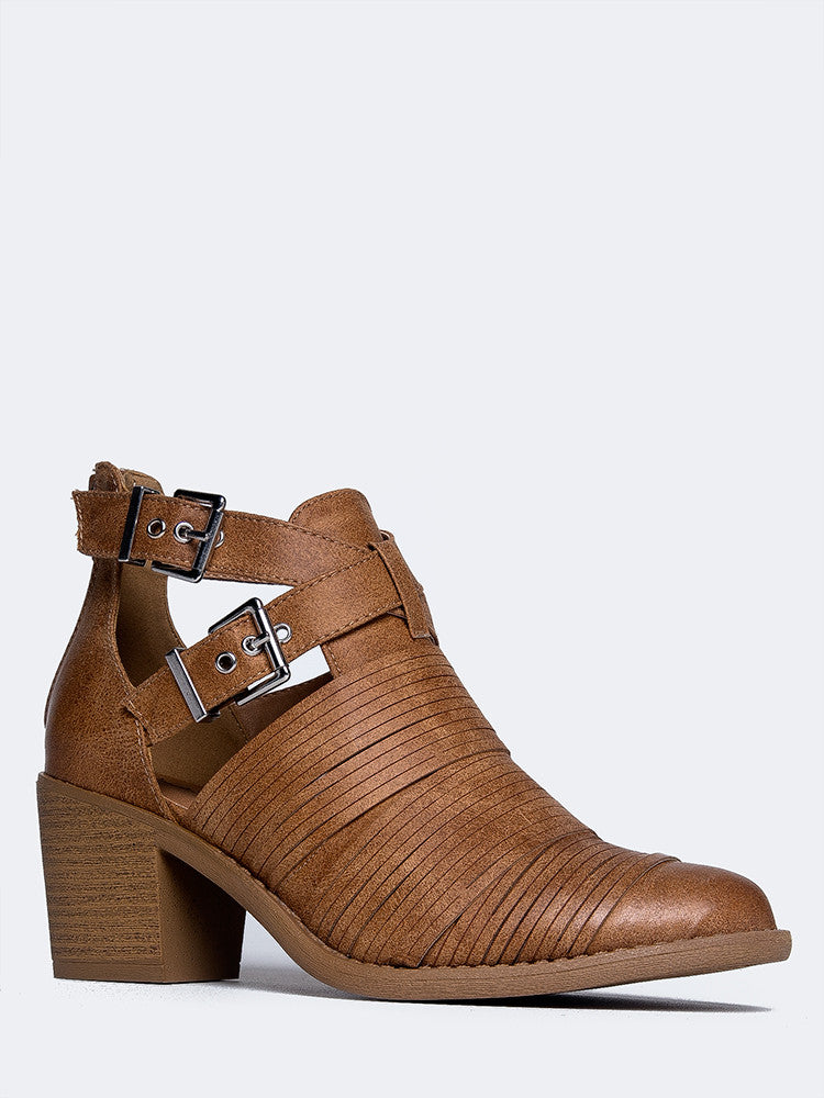 Strappy Western Booties