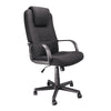 Bravo - High Back Executive Armchair with Integrated Head Support - Black