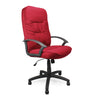 Coniston - High Back Fabric Executive Armchair with Sculptured Stitching Detail