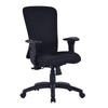 Fortis - Bariatric Task/Manager Chair with Integrated Lumbar Support - Black