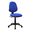 Medium Back Operator Chair - Twin Lever - Blue