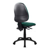 Medium Back Operator Chair - Twin Lever - Green