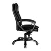Kiev - Luxurious High Back Leather Executive Chair - Black