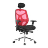 Polaris - High Back Mesh Synchronous Executive Armchair with Adjustable Headrest and Chrome Base