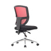 Nexus  - Medium Back Two Tone Designer Mesh Operator Chair with Sculptured Lumbar and Spine Support