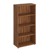 Book Case - 1600mm - 3 Shelf - Walnut