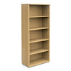 Book Case - 2000mm - 4 Shelf - Oak