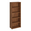 Book Case - 2000mm - 4 Shelf - Walnut