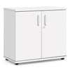 Cupboard - 800mm - 1 Shelf - White