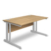 Aspire - Rectangular Desk - 1000mm Wide with Cable Management & Modesty Panel
