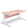 Aspire - Rectangular Desk - 1600mm Wide with Cable Management & Modesty Panel