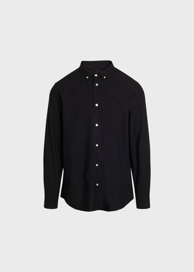 Klitmøller Collective ApS Basic shirt Shirts Black