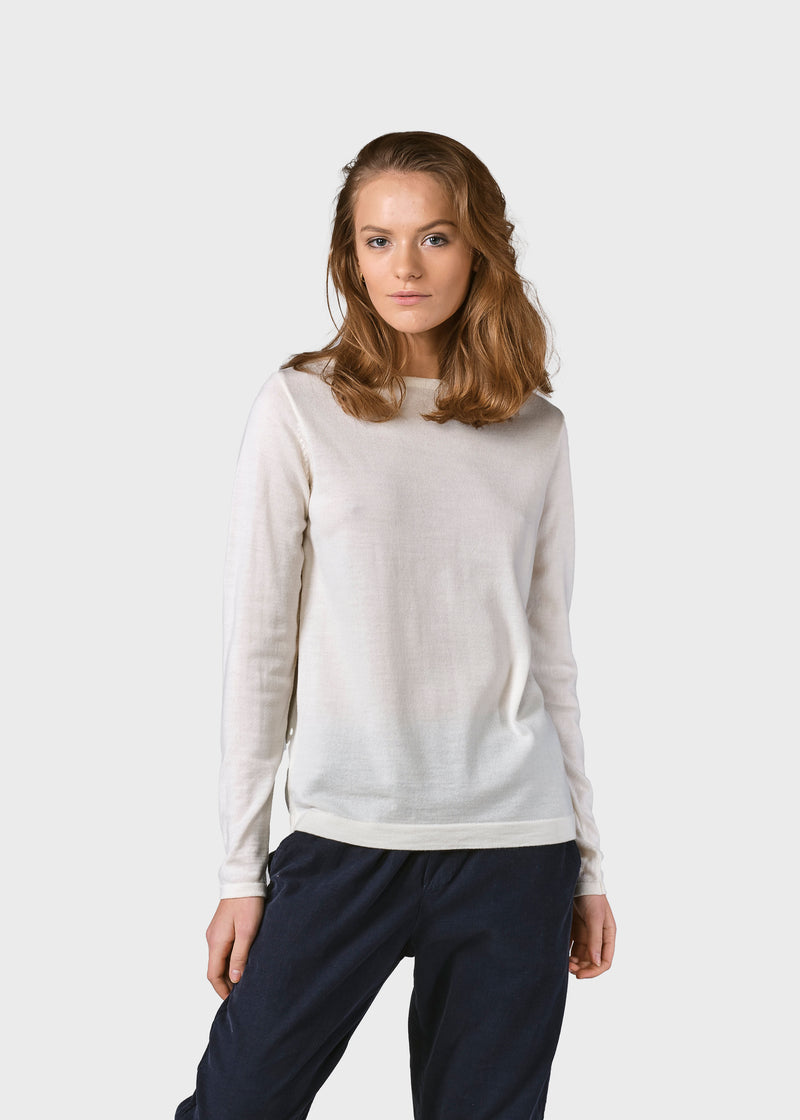 Klitmøller Collective ApS Charlotte knit Knitted sweaters Cream