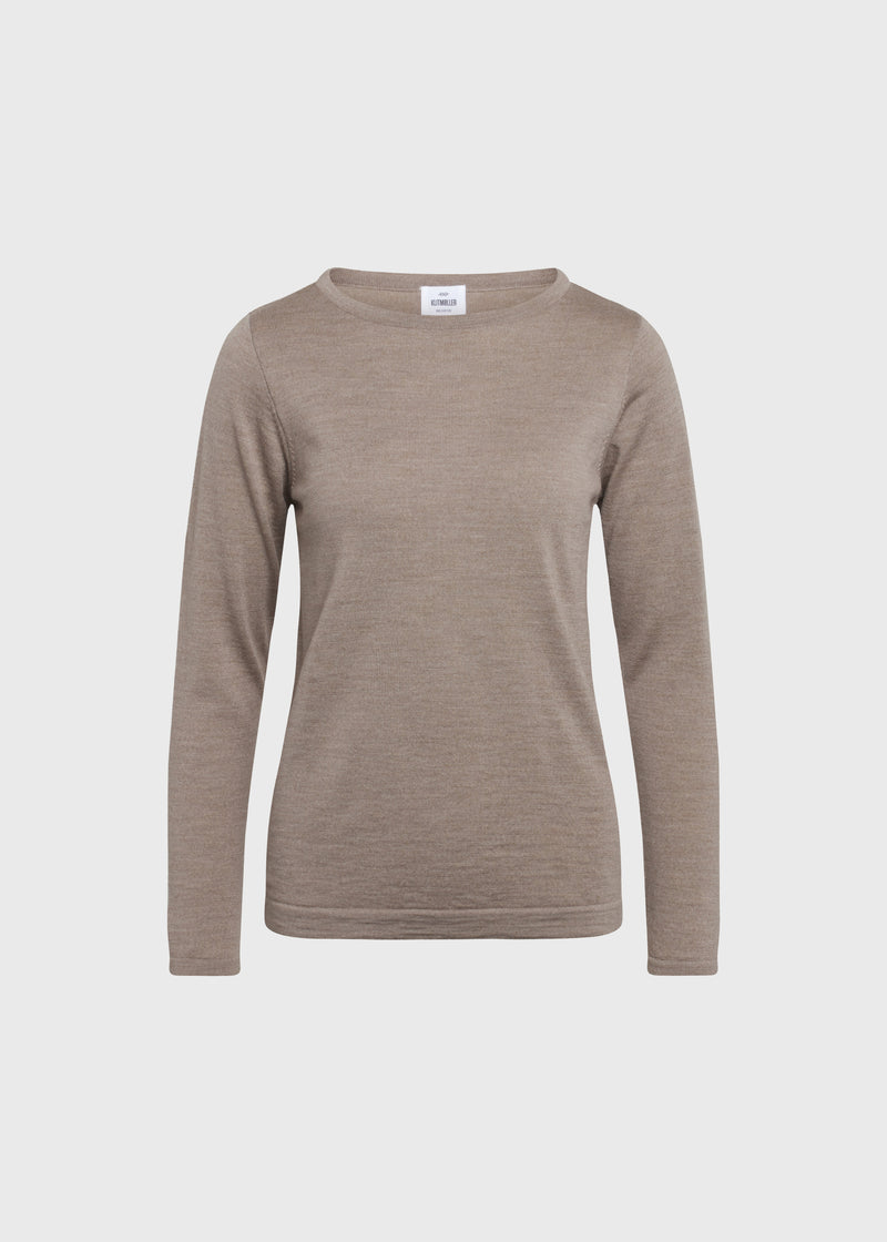 Klitmøller Collective ApS Charlotte knit Knitted sweaters Sand