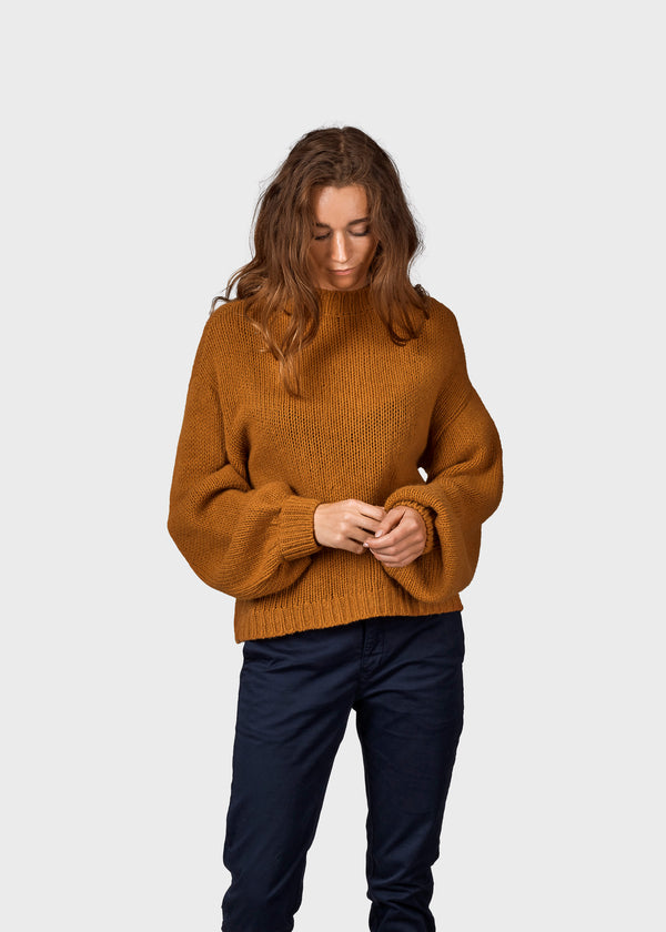 Klitmøller Collective ApS Fie knit Knitted sweaters Amber