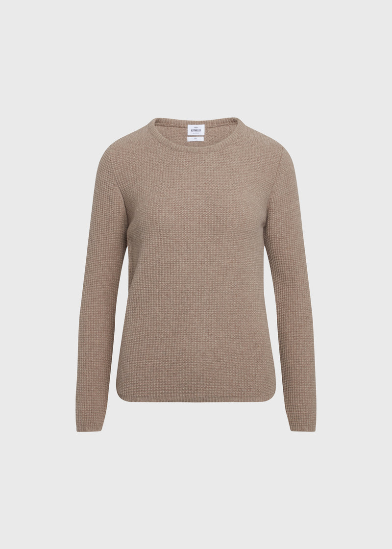Klitmøller Collective ApS Frida knit Knitted sweaters Sand