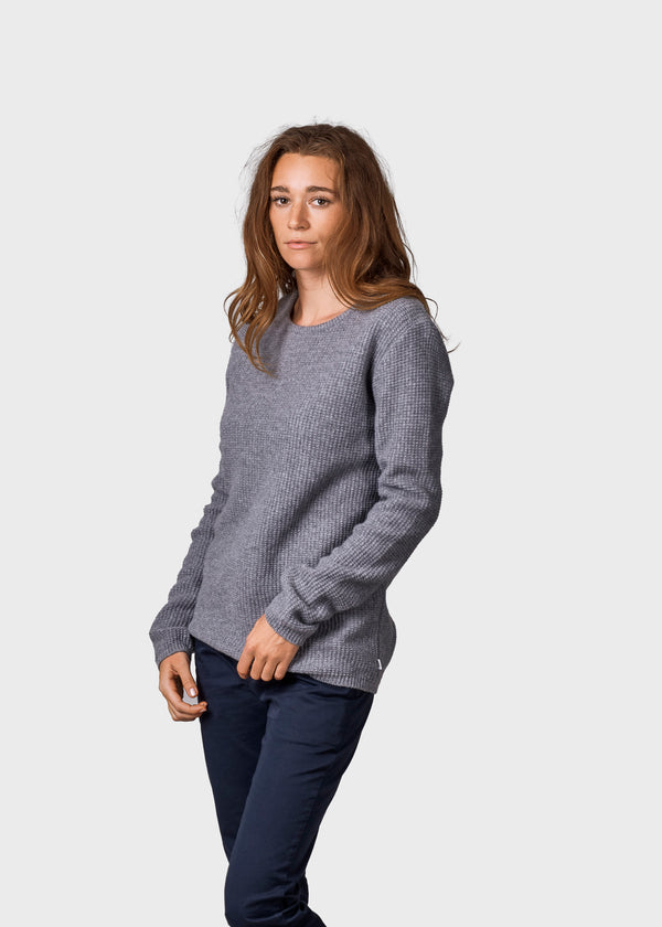 Klitmøller Collective ApS Frida knit Knitted sweaters Light grey