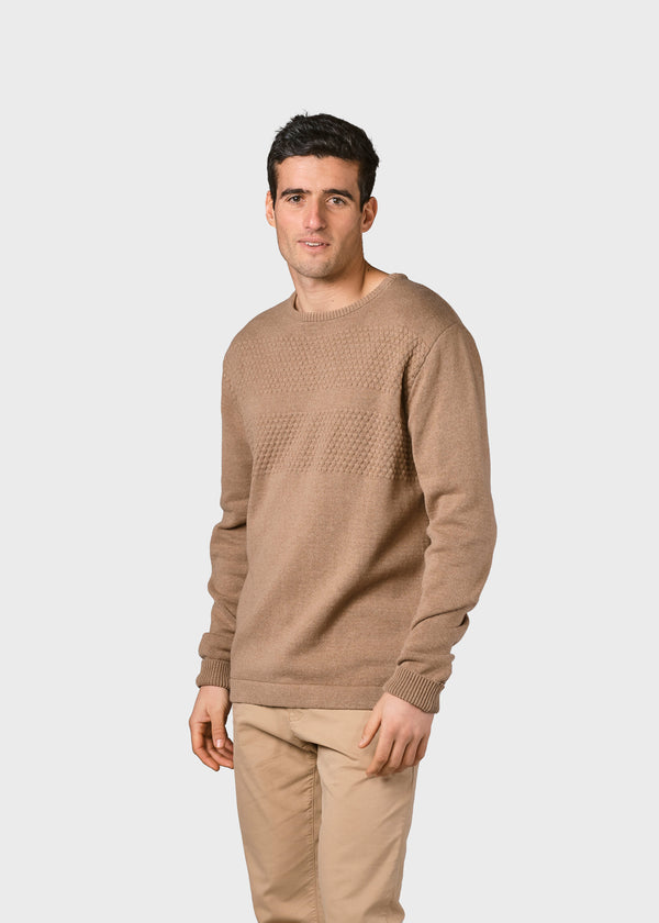 Klitmøller Collective ApS Herbert knit Knitted sweaters Sand
