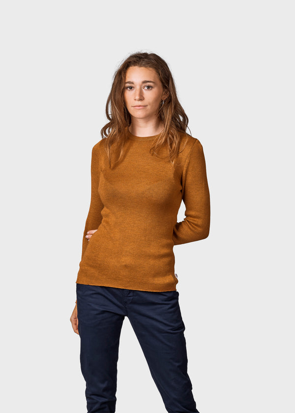 Klitmøller Collective ApS Ingrid knit Knitted sweaters Amber