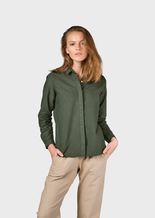 Klitmøller Collective ApS Julie shirt Shirts Olive