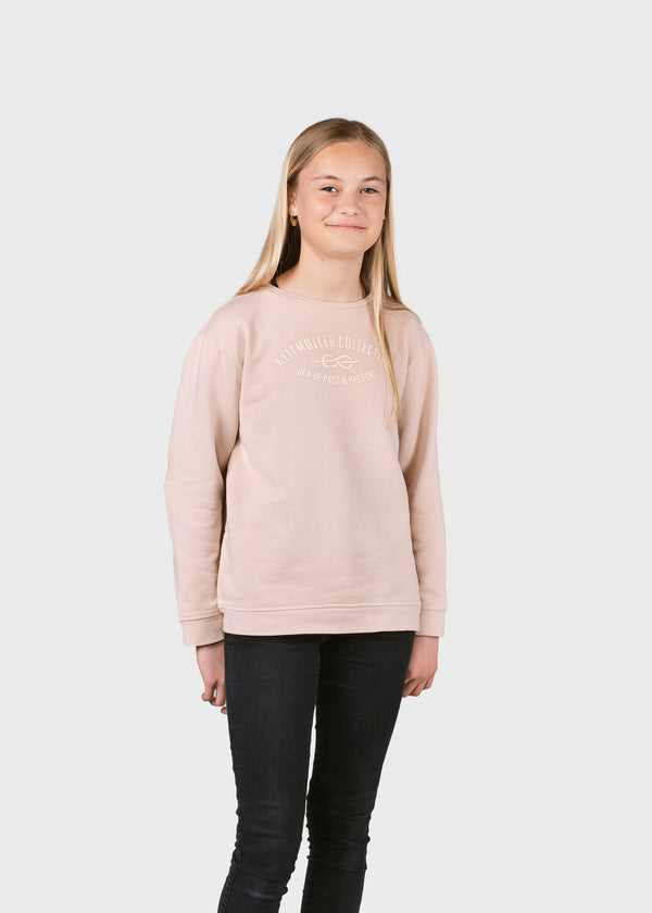 Klitmøller Collective ApS Kids logo eye crew Sweatshirts Rose