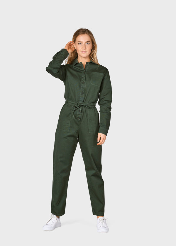 Klitmøller Collective ApS Lena Jumpsuit Jumpsuits Olive