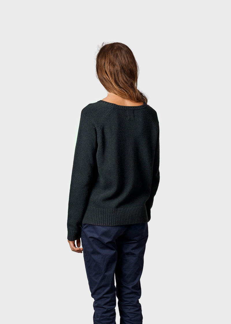 Klitmøller Collective ApS Nina knit Knitted sweaters Olive