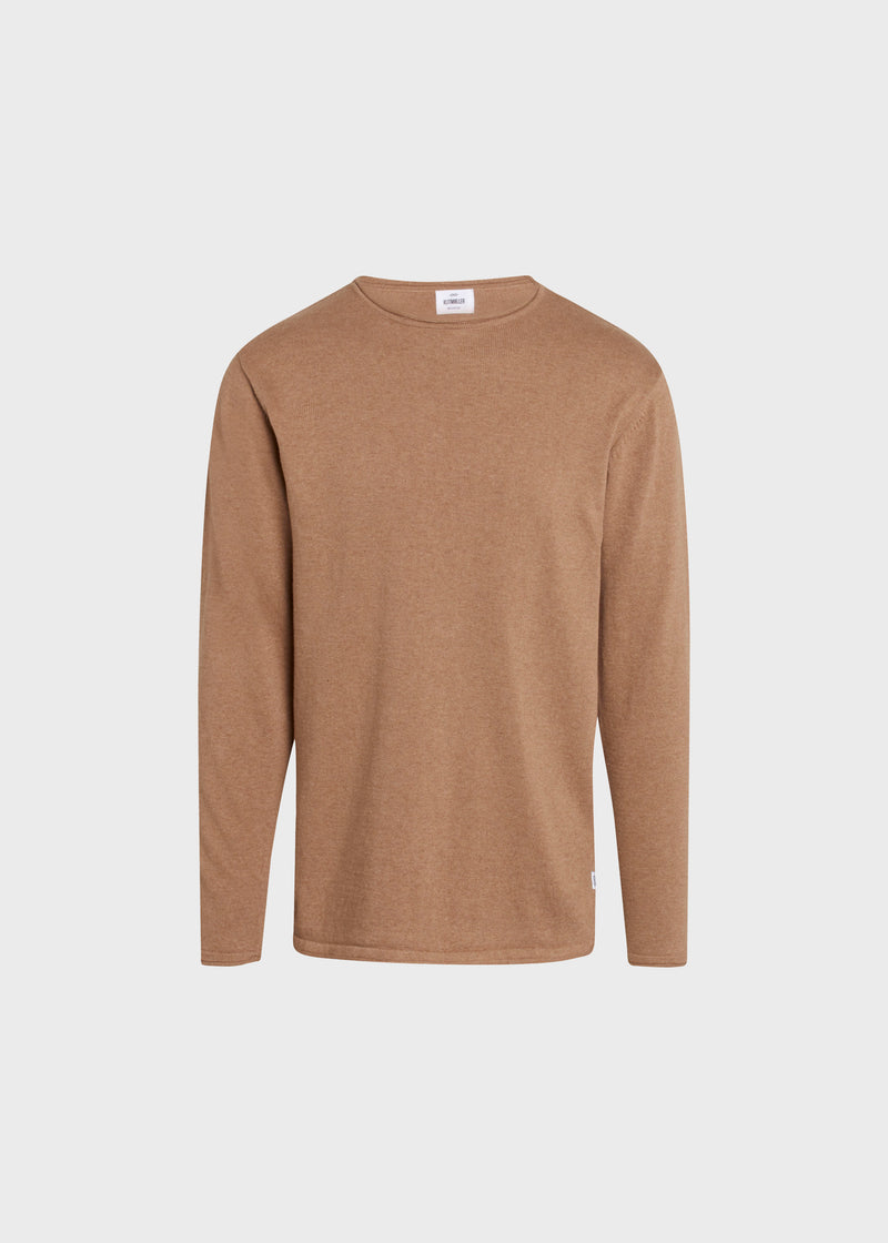 Klitmøller Collective ApS Noah knit Knitted sweaters Sand